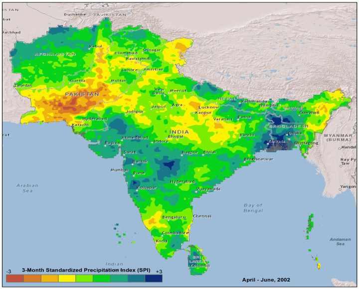 IWMI  Drought Monitoring System